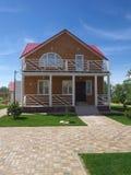 新的村庄俄国手段埃尔顿伏尔加格勒地区 免版税图库摄影