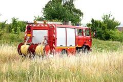新的格拉斯哥消防队 库存图片