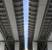 新的桥梁在城市 图库摄影