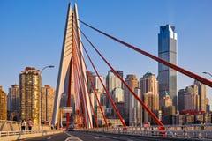 新的桥梁在重庆 库存图片