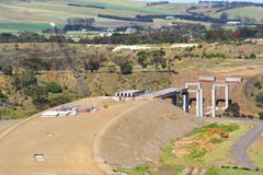 新的桥梁 免版税图库摄影