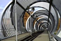 新的桥梁 库存照片