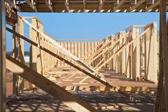 新的楼房建筑 免版税库存照片