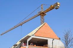 新的楼房建筑 免版税库存图片