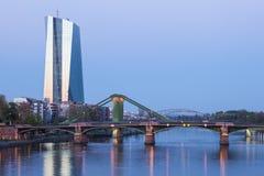 新的欧洲央行(ECB)在法兰克福
