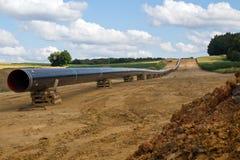 新的气体pilelines 免版税库存图片