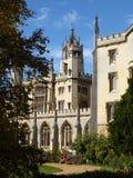 新的法院,圣约翰` s学院,剑桥 图库摄影