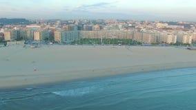 新的波尔图,葡萄牙的看法日落时间的 通风 影视素材