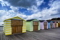 新的海斯廷斯码头 免版税库存照片