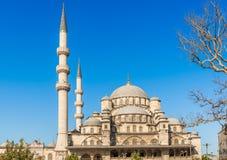 新的清真寺在伊斯坦布尔,土耳其 库存照片