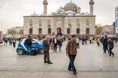 新的清真寺在伊斯坦布尔,土耳其 库存图片