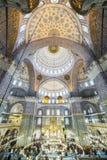 新的清真寺在法提赫,伊斯坦布尔 免版税库存照片