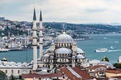 新的清真寺在Instanbul 免版税库存照片