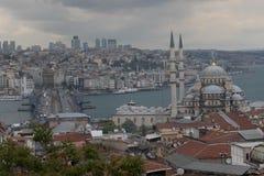 新的清真寺在Instanbul 免版税库存图片