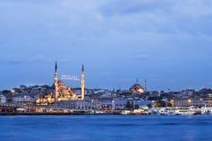 新的清真寺(伊斯坦布尔) 免版税库存照片