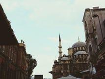 新的清真寺(伊斯坦布尔) 库存图片