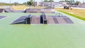 新的滑板公园蒙加马利,阿拉巴马 图库摄影