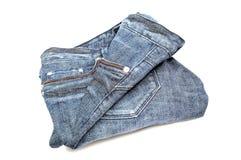 新的牛仔裤 免版税库存图片