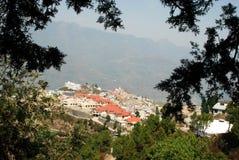 新的特赫里(Chamba) Uttarakhand印度 免版税图库摄影