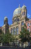 新的犹太教堂,柏林 免版税图库摄影