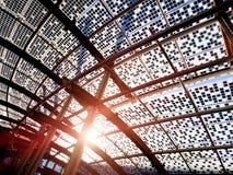 新的现代区在米兰 免版税图库摄影