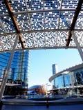 新的现代区在米兰 图库摄影