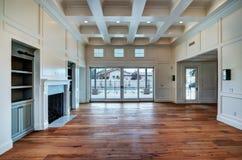 新的现代客厅 库存照片