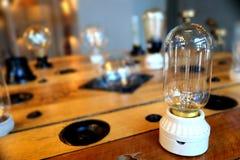 新的电灯泡varites设计 库存图片