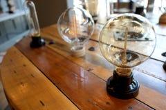 新的电灯泡varites设计 免版税库存照片