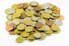 新的白俄罗斯语硬币 免版税库存照片