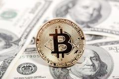 新的真正金钱 Cryptocurrency 库存照片