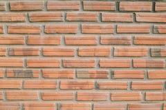 新的砖墙背景 免版税库存照片