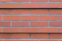 新的砖墙背景 免版税库存图片