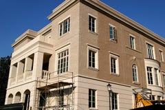 新的砖建筑 库存照片