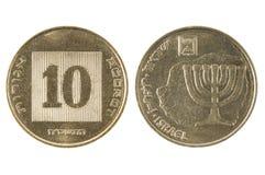 新的硬币以色列集市 库存照片