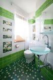 新的空间洗手间 免版税图库摄影