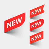 新的符号 免版税库存图片