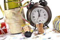 新的等待的年 免版税库存照片