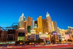 新的约克新的约克赌博娱乐场 免版税库存照片