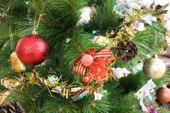 新的结构树xmas年 免版税库存照片