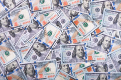 新的美金 免版税库存图片