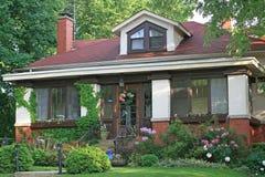 新的老房子设计现代经典之作  库存照片
