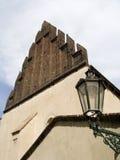新的老犹太教堂 免版税库存照片