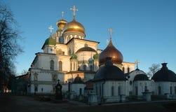 新的耶路撒冷修道院 免版税库存图片