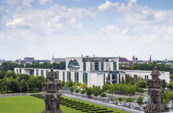 新的联邦德国的大臣官邸在柏林,德国 库存图片