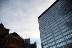 新的苏格兰场,伦敦 免版税库存图片