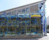 新的荷兰农业亭子,商展2015年 免版税图库摄影