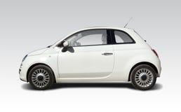 新的菲亚特500 免版税库存照片