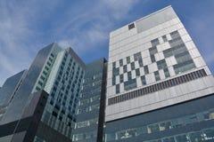 新的蒙特利尔` s中心医院 免版税图库摄影
