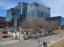 新的蒙特利尔` s中心医院 免版税库存图片